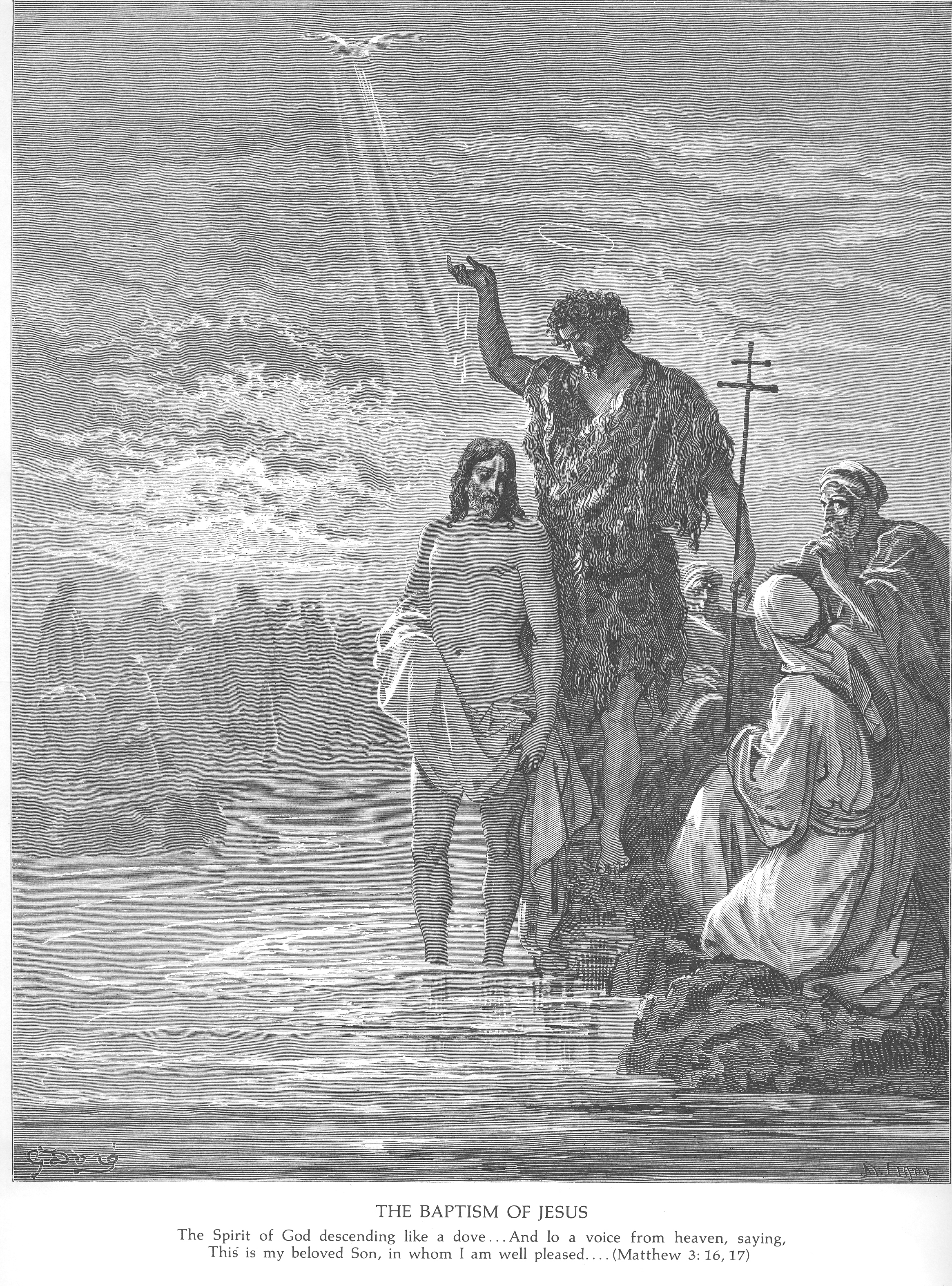 Gustave Dore Bible Gallery - New Testament - John