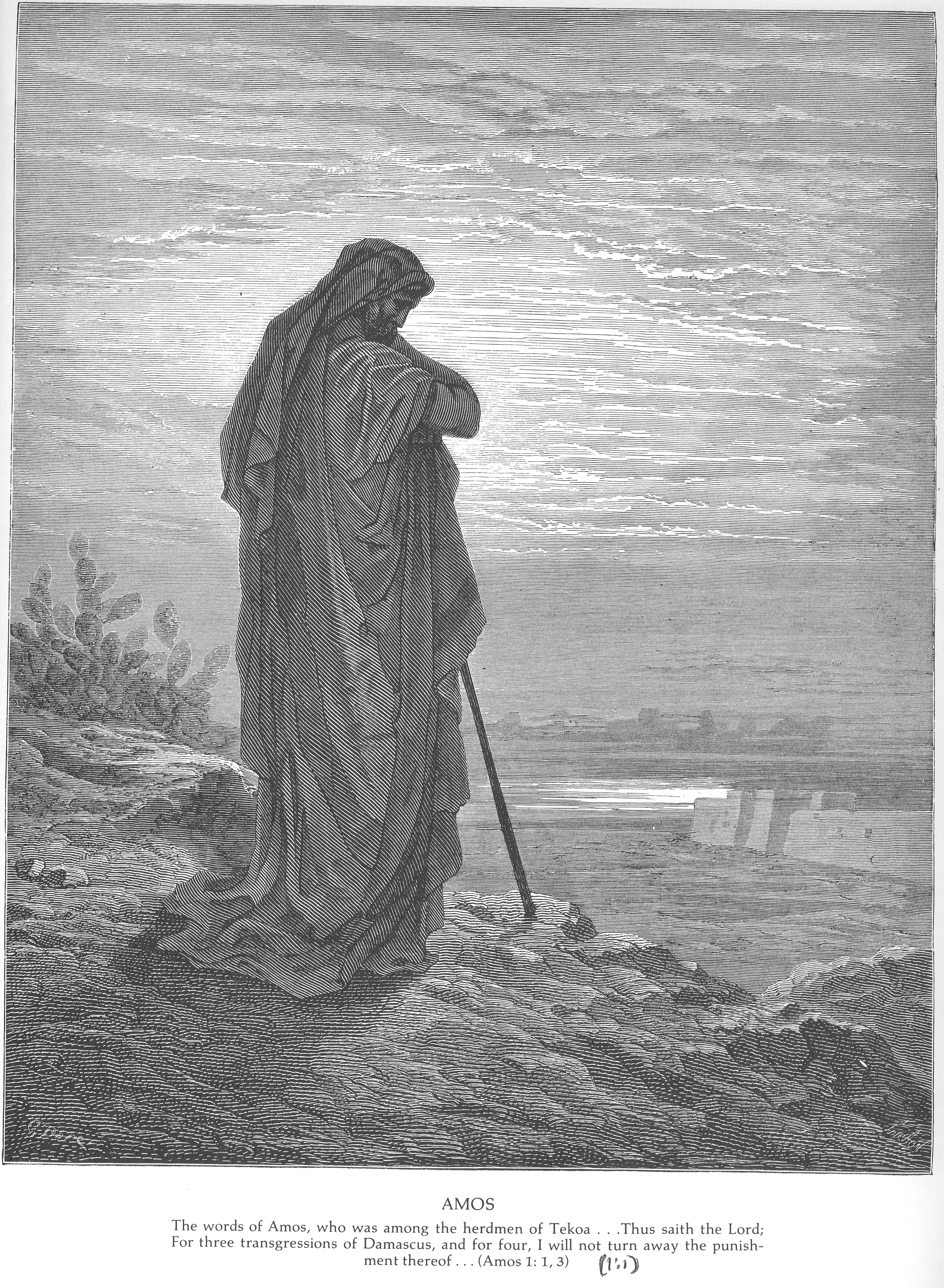 Gustave dore bible gallery old testament the minor prophets
