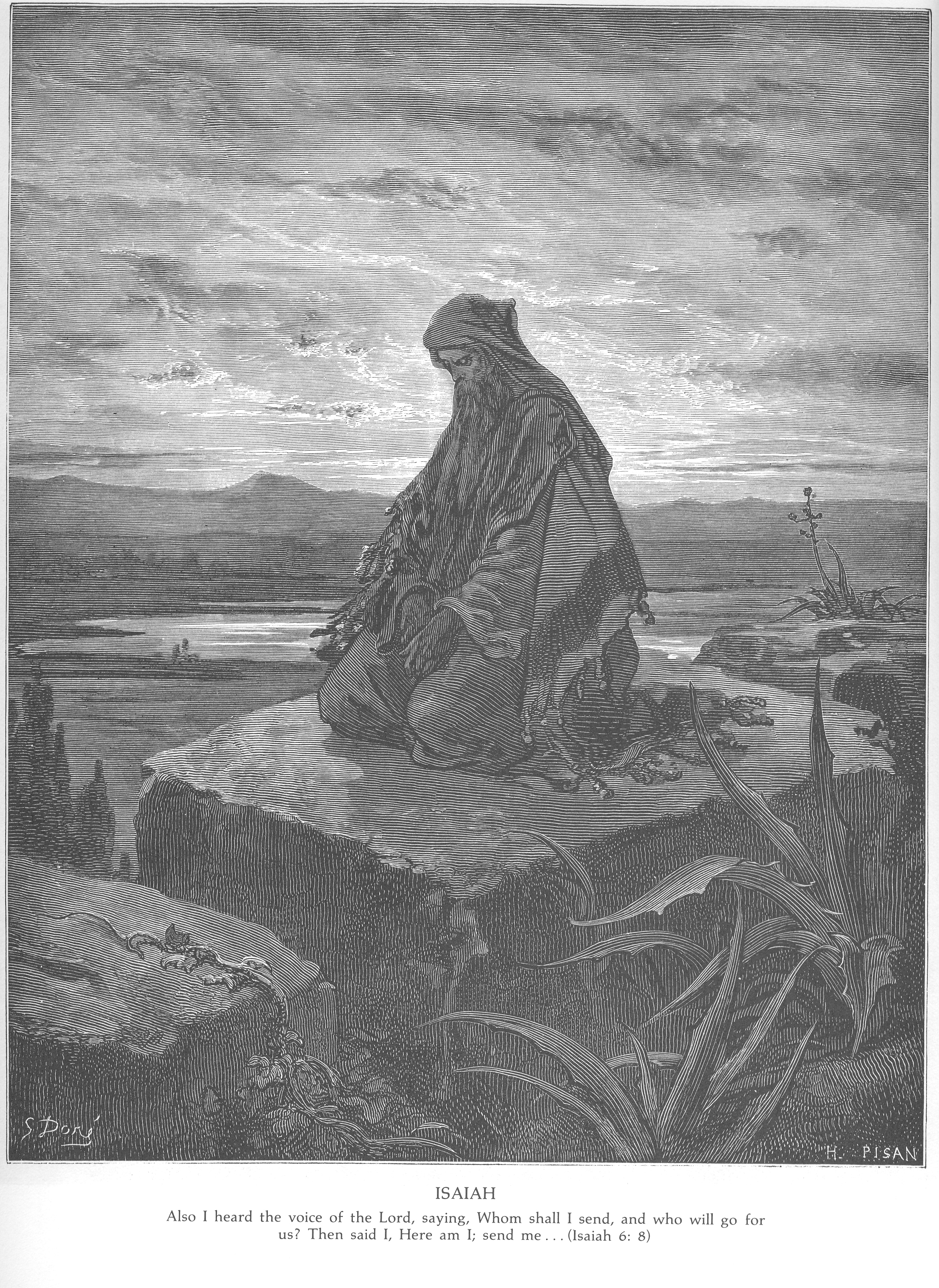 Gustave Dore Bible Gallery - Old Testament - Isaiah