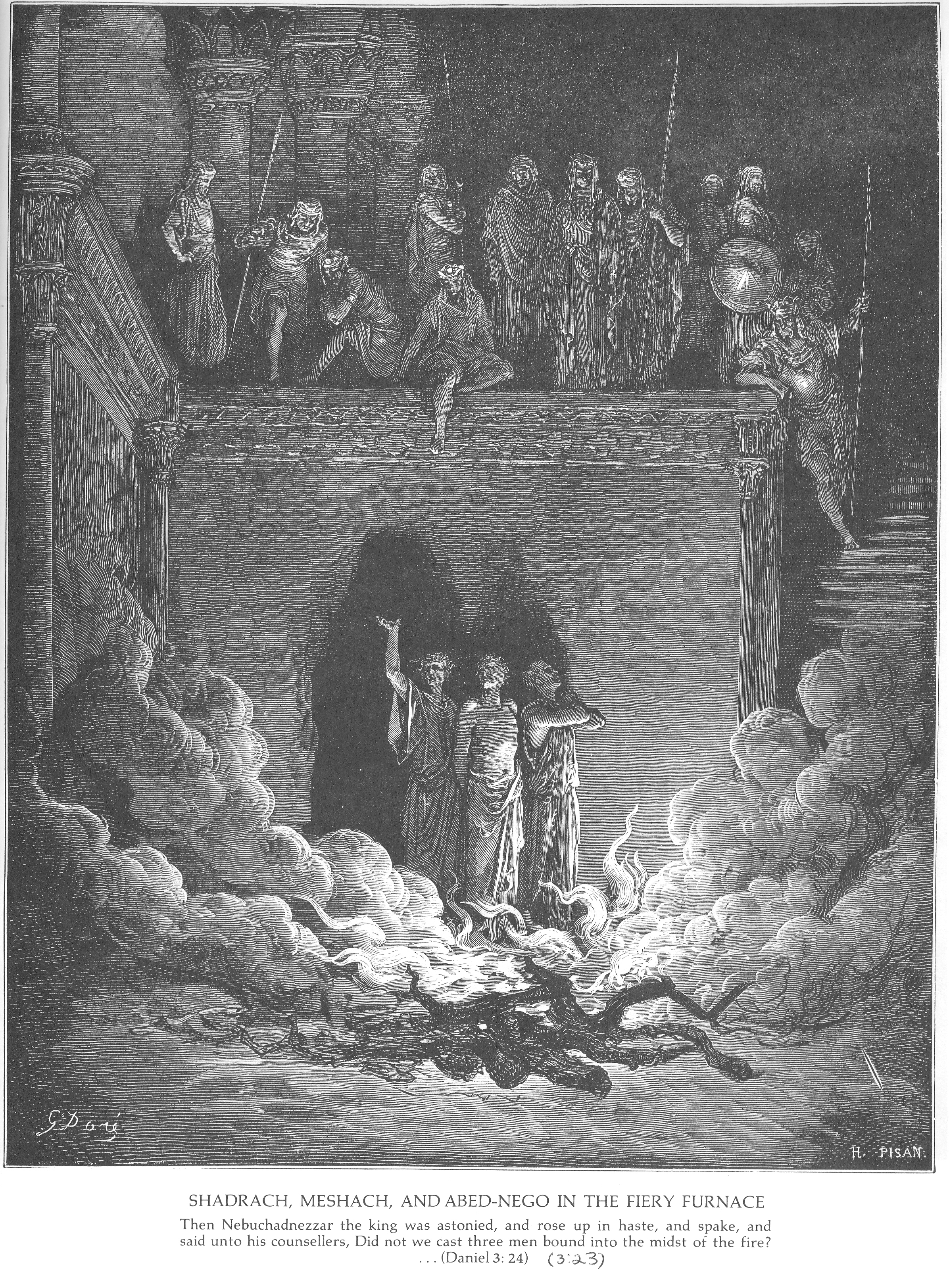 gustave dore bible gallery old testament daniel
