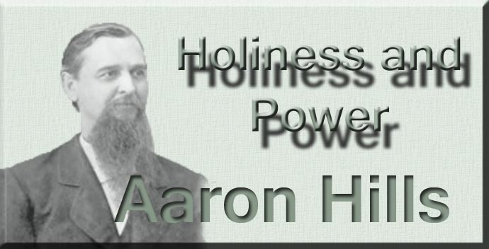 Swartzentrover com | Aaron Hills - Holiness and Power - Dedication
