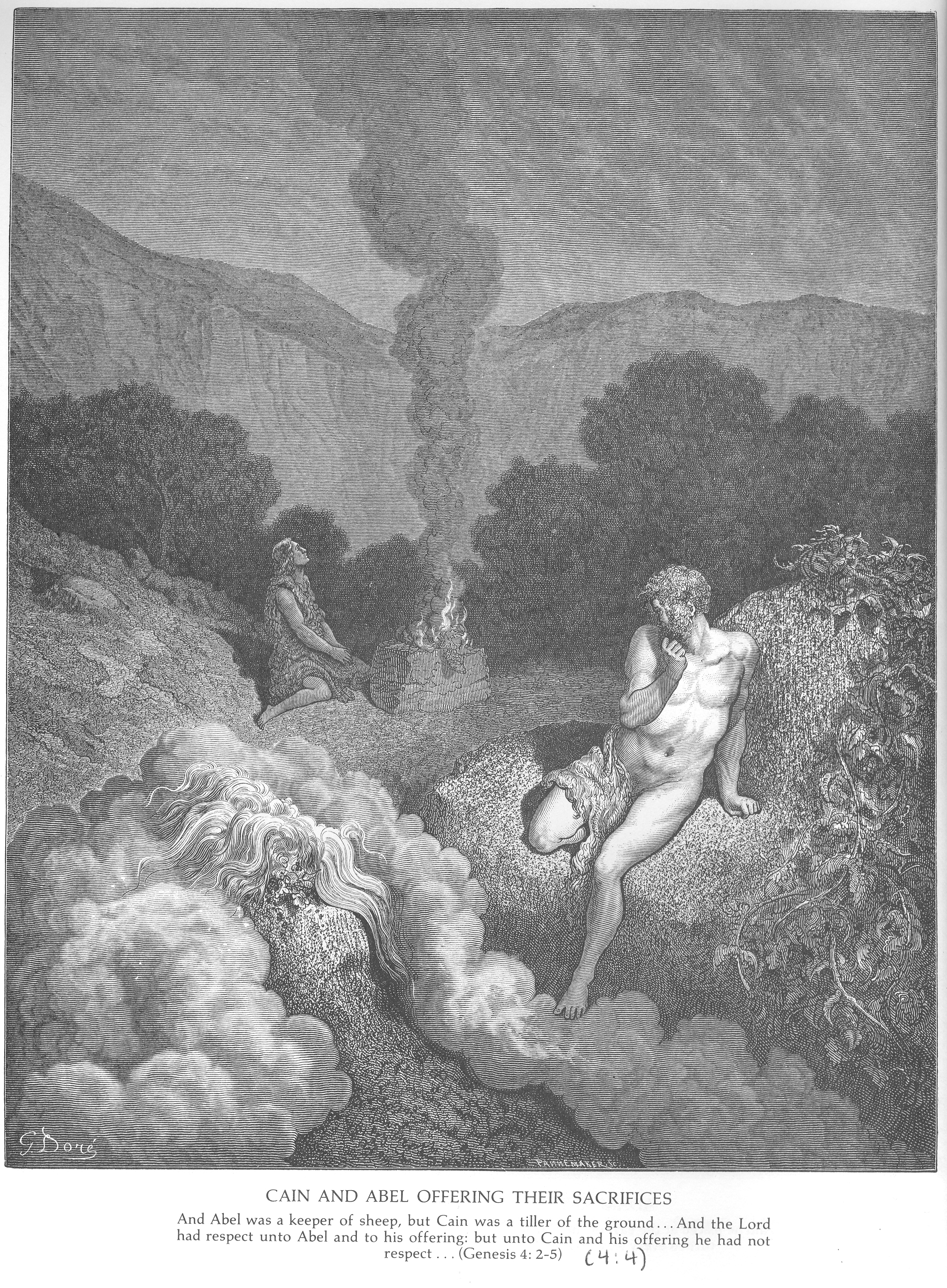 Gustave Dore Bible Gallery Old Testament Genesis